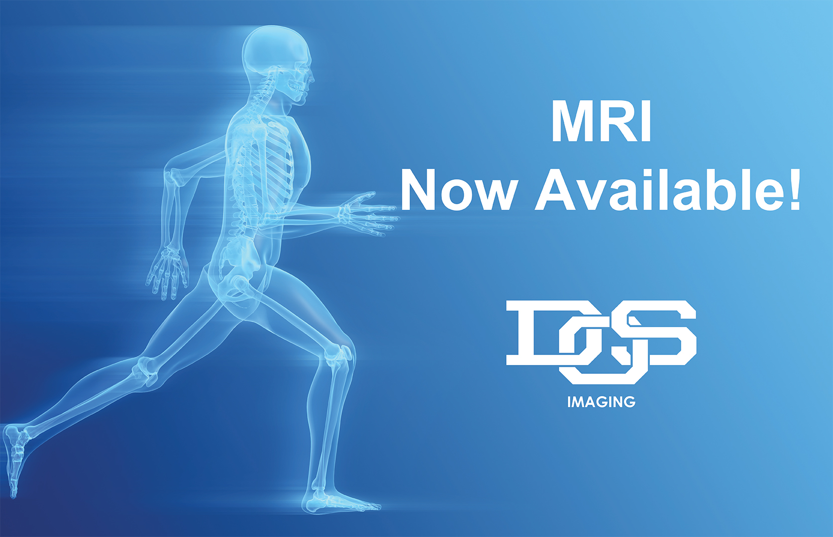 MRI Now Available